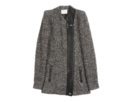 Derby Jacket - Crossed jacket with stand up collar - Grey - Jackets - Women - IRO