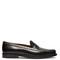 Elegant studded leather loafers
