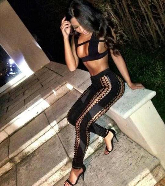 leggings crop tops clubwear