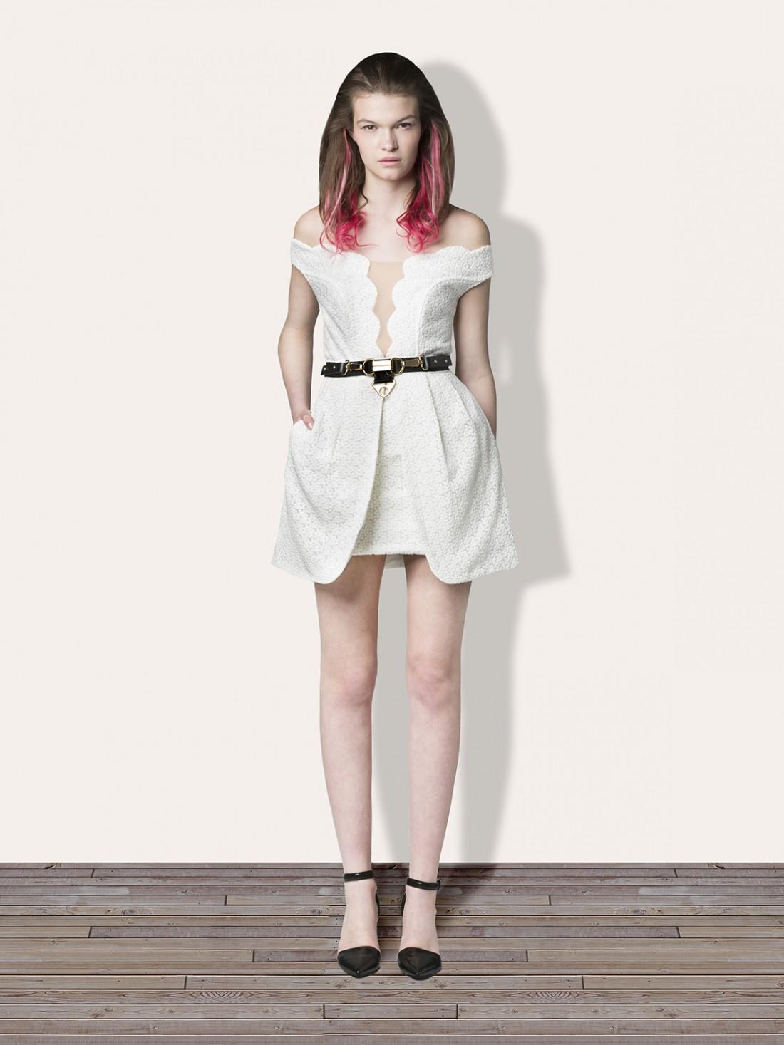 WHITE OUT Dress - Dresses Three Floor Fashion