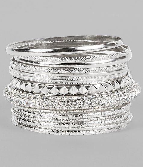 BKE Glitz Bracelet Set - Women's Accessories   Buckle