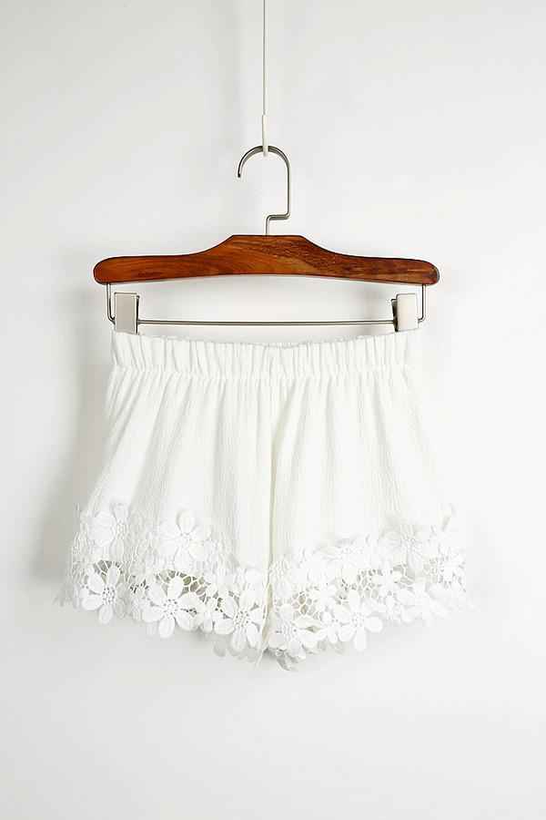 lace shorts short ebonylace.storenvy shorts