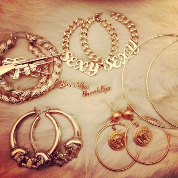 jewels acessories earrings gold earrings girls earrings