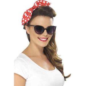 50s Cat Eye Specs Black Retro Ladies Fancy Dress Accessories Sun Glasses | eBay
