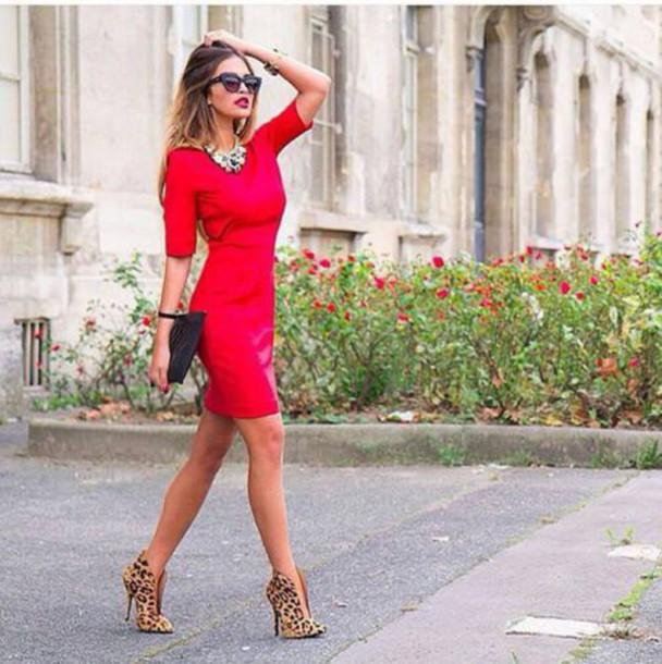 dress dress red dress