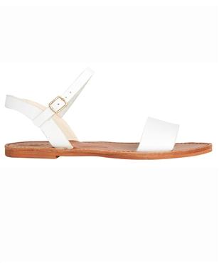 BONDI WHITE LEATHER | Footwear | Clothing | Shop Womens | General Pants Online