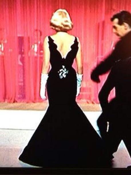 dress white christmas black dress train long elegant eveninggown elegant dress prom dress