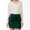 High-low spiked collar blouse | forever21 - 2025100981