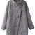 ROMWE | ROMWE Single-breasted Lapel Long Sleeves Grey Coat, The Latest Street Fashion
