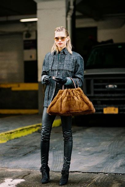 vanessa jackman blogger bag jeans shoes