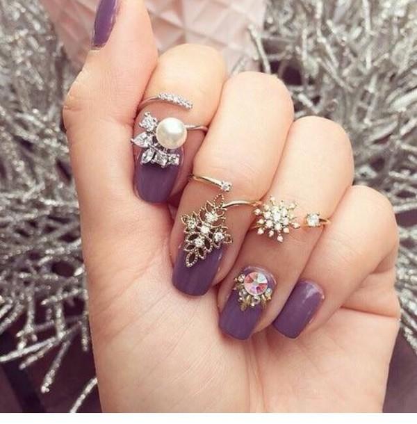 nail accessories jewels