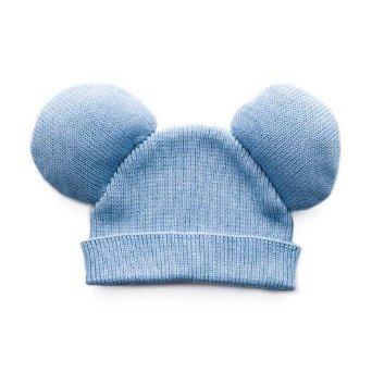 Amazon.com: Trumpette Mickey Hat - Blue: Clothing