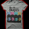 Beatles - 4 faces ladies fitted shirt | beatles at catacombs band merch