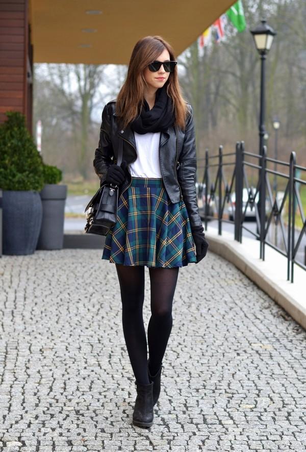 vogue haus t-shirt skirt jacket shoes bag jewels sunglasses