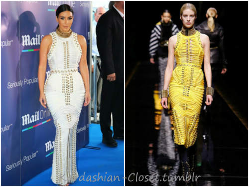 - Kim looked stunning at theat the MailOnline 2014...