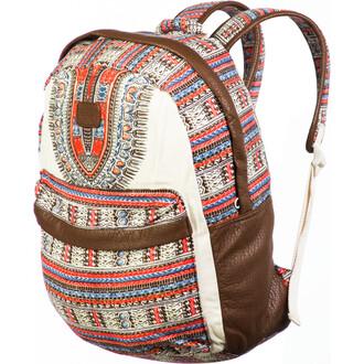 bag billabong backpack patterened