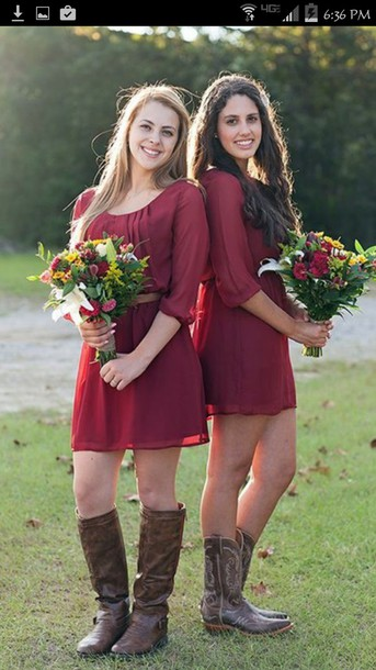 dress country style country wedding