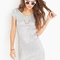 Foiled scoop dress in  clothes dresses at nasty gal