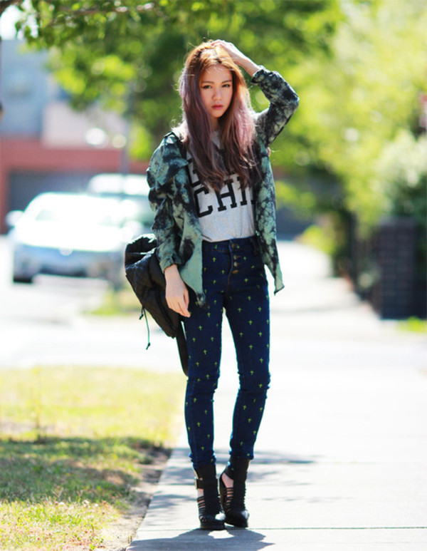 chloe ting shirt t-shirt bag shoes