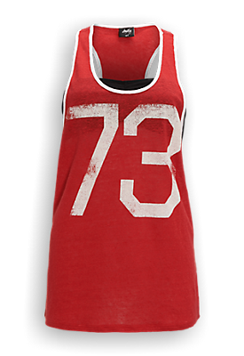 Racerback Singlet Rood - The Sting