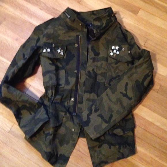 24% off  Jackets & Blazers - Camouflage camo jacket from Anke's closet on Poshmark