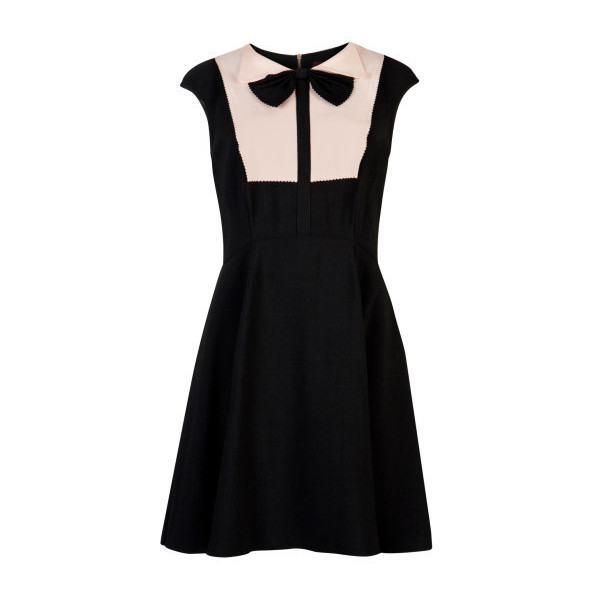 NITCHA Bow collar dress - Ted Baker - Polyvore