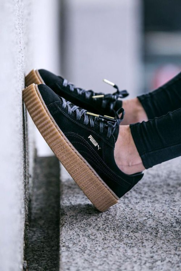 Puma Creepers Black Gum