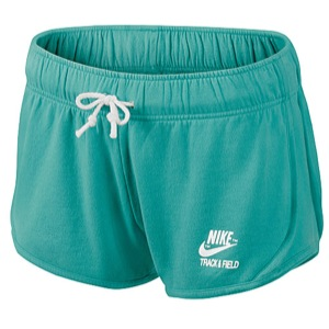 Nike Vintage Fleece Tempo Short - Women's - Casual - Clothing - Sport Turquoise