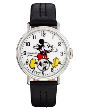 Disney   Disney Golden Years Mickey Mouse Rotator Black Watch at ASOS