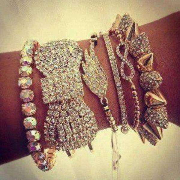 jewels spiked bracelet jewelry