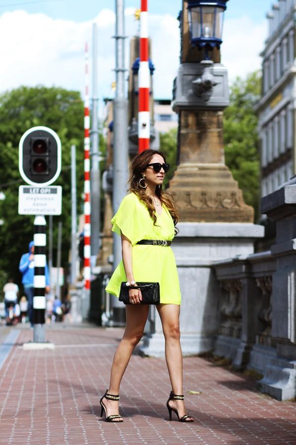 preppy fashionist sunglasses romper belt bag shoes jewels