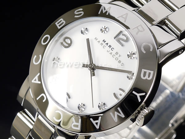 newestshop | Rakuten Global Market: MARC BY MARC JACOBS marks by Marc Jacobs Amy Crystal Amy Crystal MBM3054 silver Unisex Watch