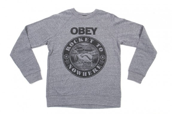 OBEY ROCKET TO NOWHERE HEATHER GREY
