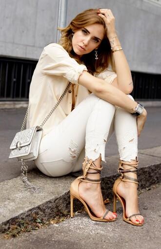 the blonde salad shoes jeans jewels bag sunglasses shirt