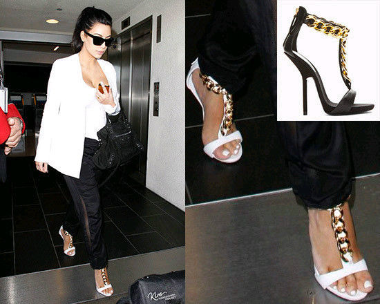 Ladies T Strappy Chain Open Toe Pumps Leather Heels Gladiator Sandals Shoes W8 | eBay