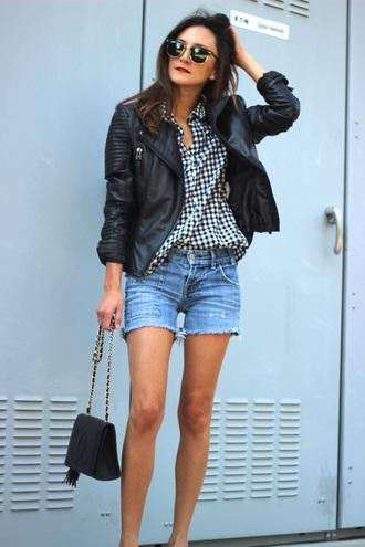 frankie hearts fashion jacket shirt shorts shoes bag sunglasses