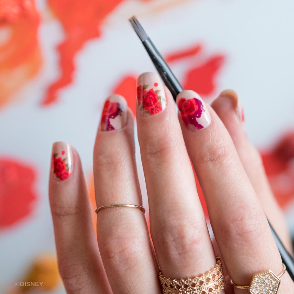 Disney Princess Nail Art Wheretoget