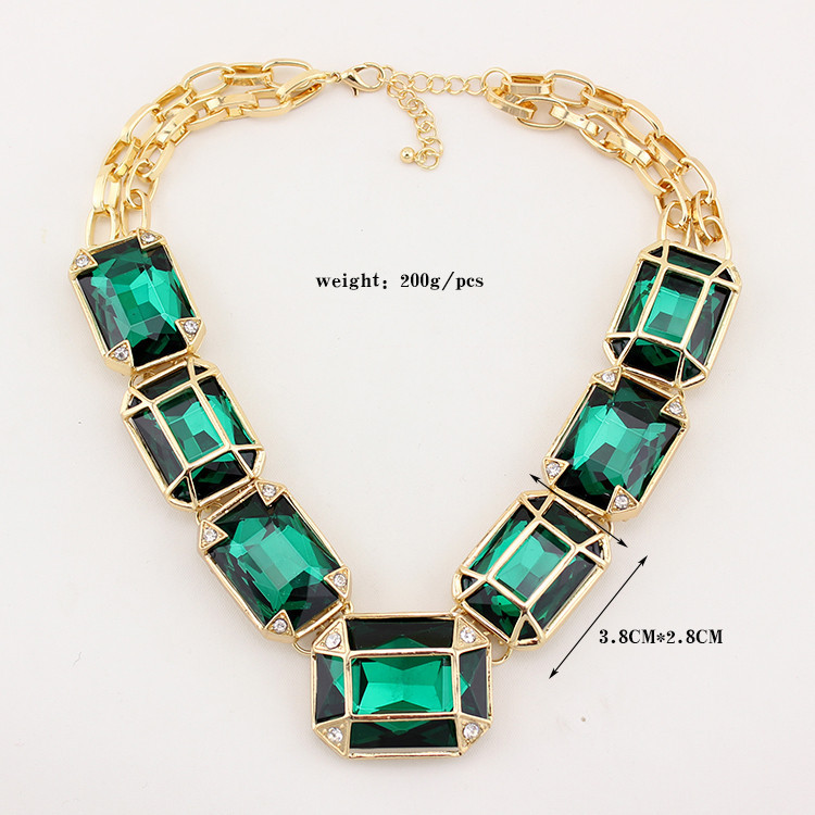 2014 New Big Crystal Necklaces & Pendants Fashion Vintage Collar Chunky Luxury Choker Necklace Statement Jewelry for Women Party-in Choker Necklaces from Jewelry on Aliexpress.com