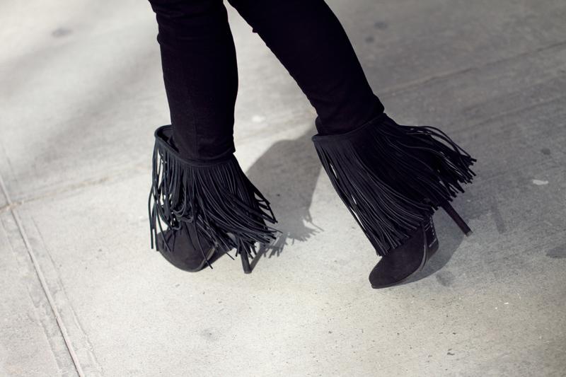 fringe boots | Fashion Squad