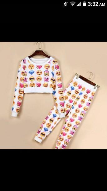 jumpsuit emoji pants emoji shirt