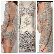 Diamond Crystal Dress — Dope Girl Boutique