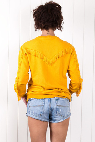 On The Fringe Sweater                             Citizen Collective