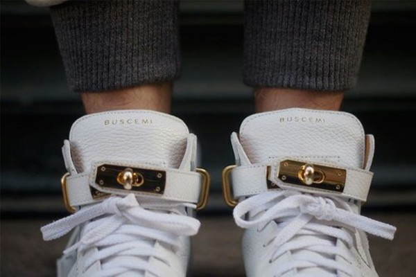 shoes sneakers white sneakers gold strap swag
