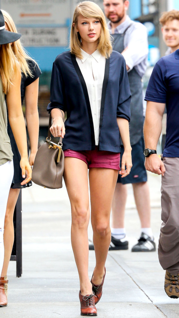 shorts taylor swift jacket blouse bag shoes