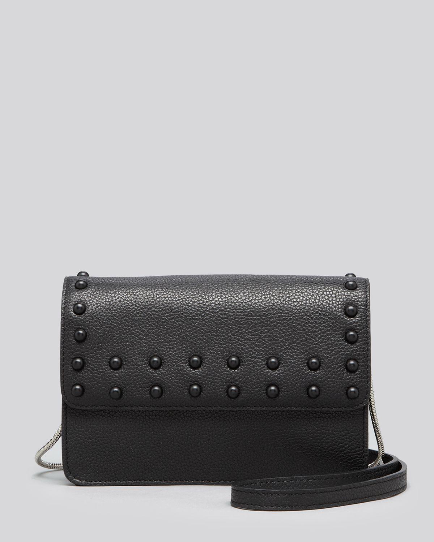 MILLY Shoulder Bag - Beacon Stud Mini | Bloomingdale's