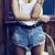 Boyfriend Jean Shorts - Arad Denim