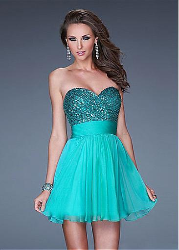 Buy Discount blue tone short/mini A-line Occasion Dresses from  Edreambridal