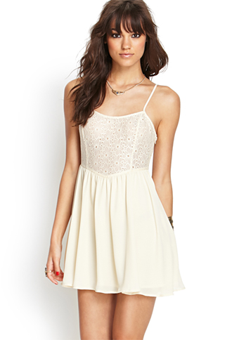 Floral Lace Cami Dress | FOREVER 21 - 2000067550