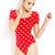 Polka Dot Doll Bodysuit | FOREVER21 - 2000091043