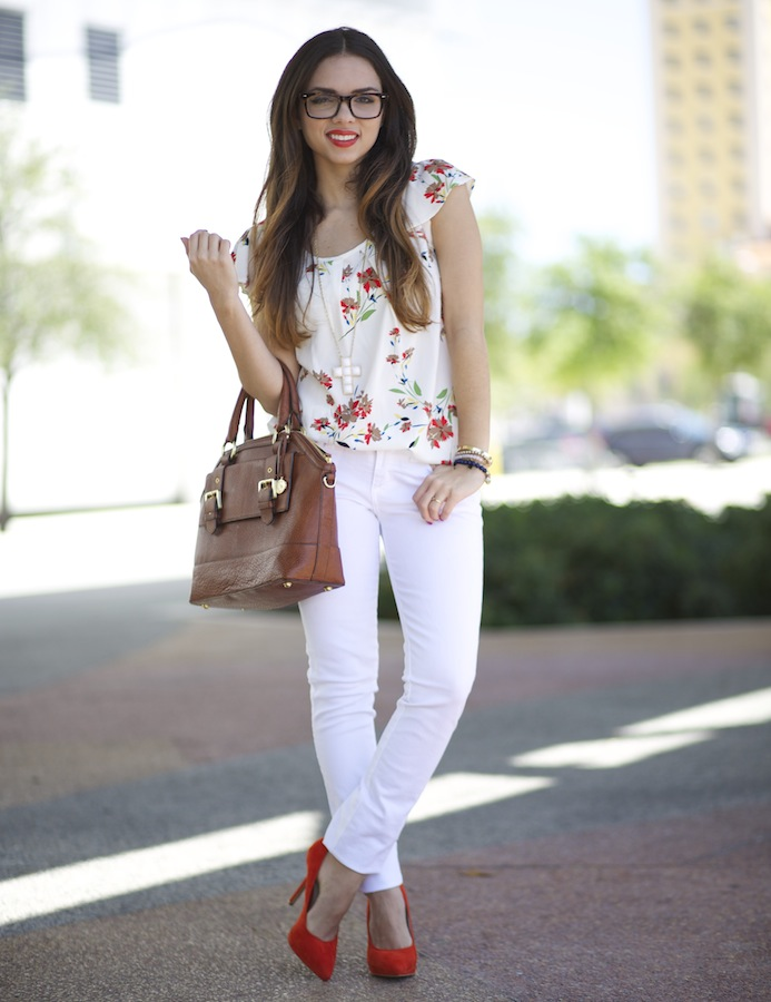 Nany's Klozet: SPRING WHITES AND FLORALS!